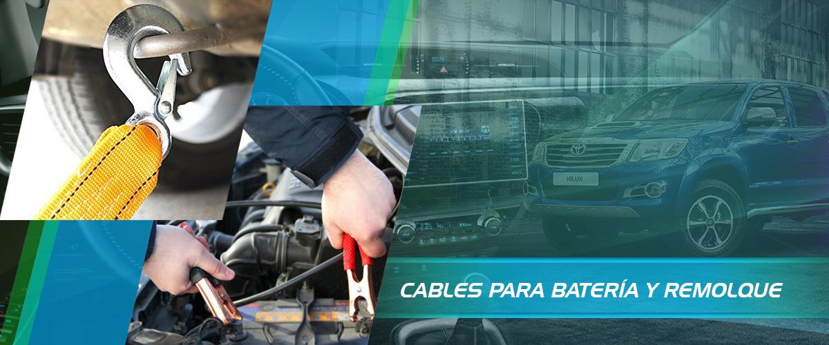 CABLES PARA BATERÍA Y REMOLQUE