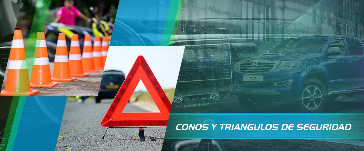CONOS Y TRIANGULOS DE SEGURIDAD